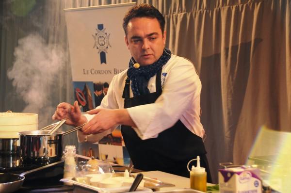 Fr d ric lesourd mon chef de partie for Poste chef de cuisine